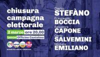 Venerdì a Lecce la chiusura della campagna elettorale